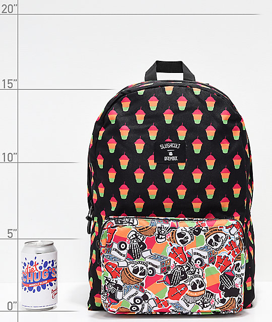 Acembly x Slushcult Cups Collage Modular Backpack