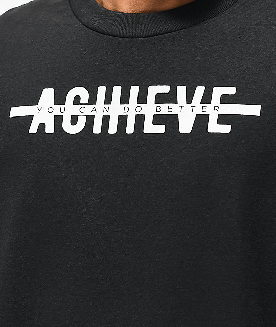 Achievement Hunter Strike Through Black T-Shirt