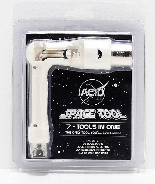 Acid Chemical Co. Space White Skate Tool