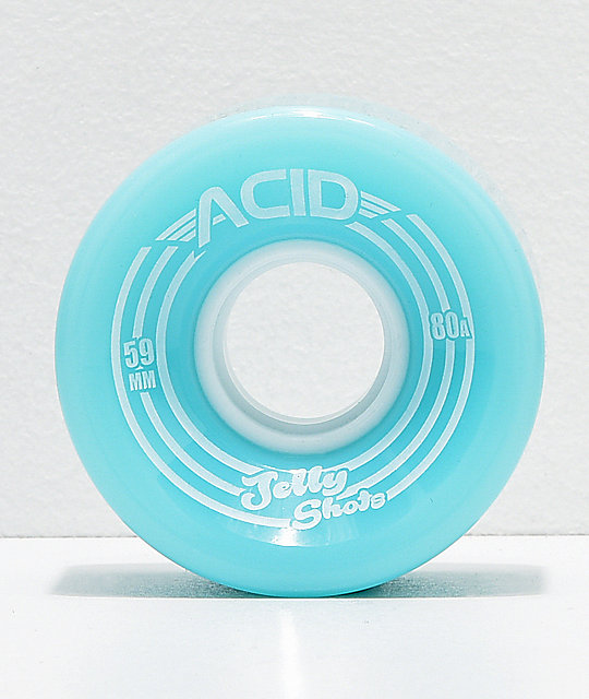 Acid Jelly Shots 59mm 82a ruedas de skate azules
