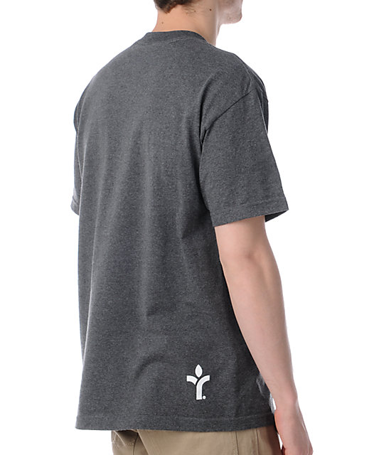 Acrylick Champs Charcoal Grey T-Shirt