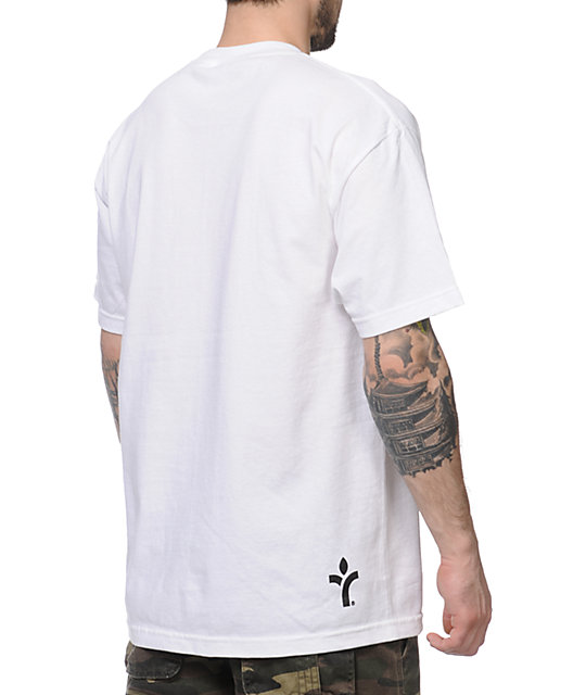 Acrylick Delicious Cuts White T-Shirt