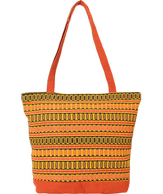 Adventure Imports Panal Woven Tote Bag