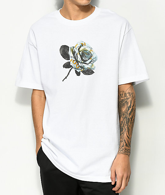 Ain't Nobody Cool Rose White T-Shirt