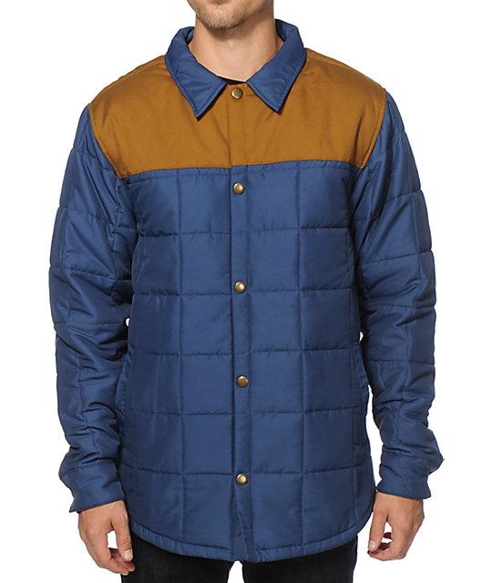 Airblaster Quilted Shirt Jacket Zumiez