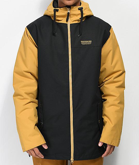 Airblaster Toaster Black & Gold 10K Snowboard Jacket