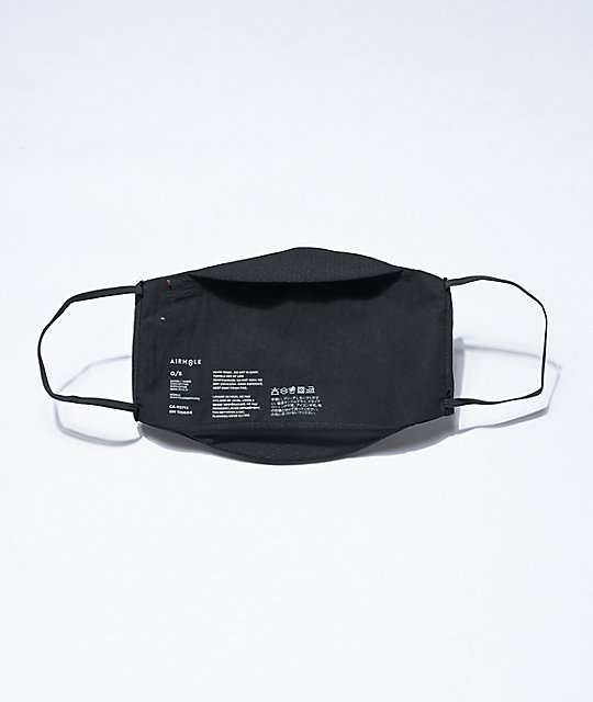 Airhole Advanced Black Face Cover