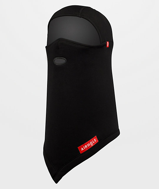 Airhole Black Polar Fleece Balaclava