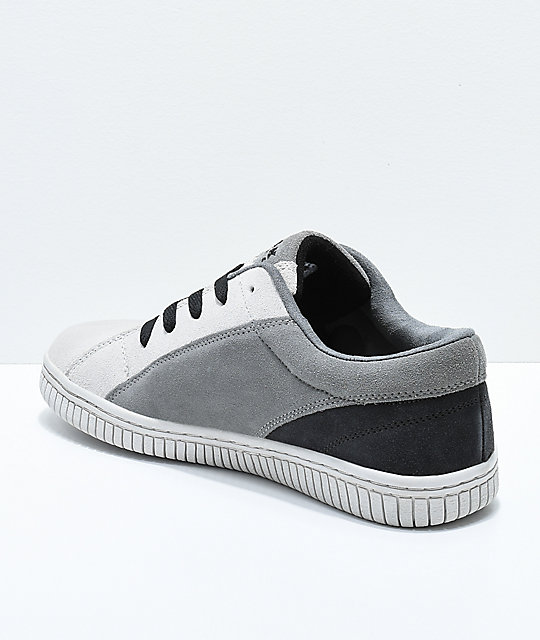 Airwalk One Charcoal & Grey Skate Shoes