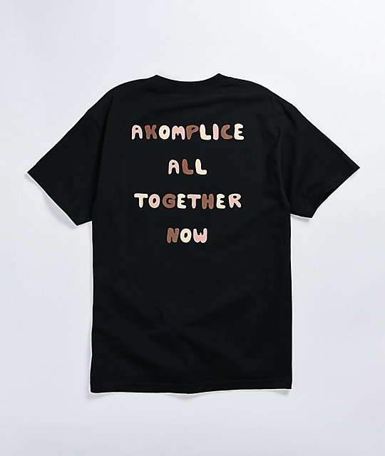 Akomplice All Together Black T-Shirt