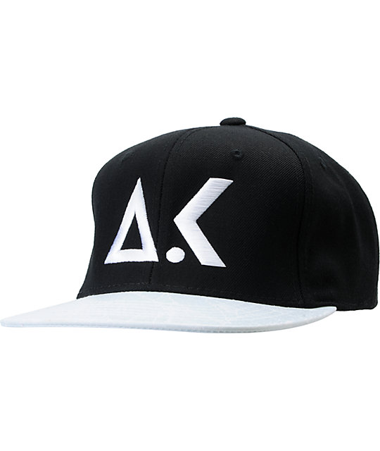 Akomplice Hyperlight AK Logo Black Snapback Hat