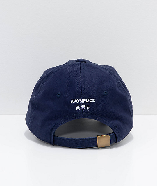 Akomplice NY Crimes Navy Strapback Hat