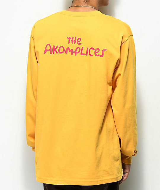 Akomplice The Akomplices Mandarin Long Sleeve T-Shirt