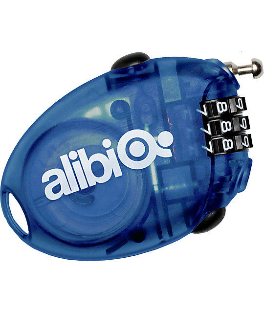 Alibi Blue Small Cable Lock