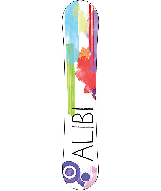 Alibi Escape 148cm Womens Rocker Snowboard