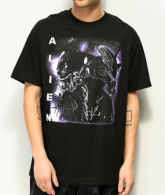 Alien Rap camiseta negra