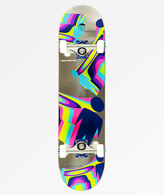 Alien Workshop Flextime Foil 7.87 Skateboard Complete