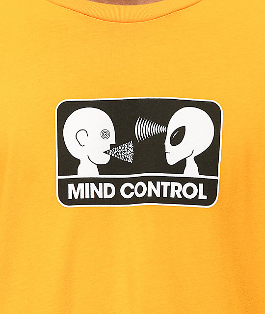 Alien Workshop Mind Control Gold T-Shirt