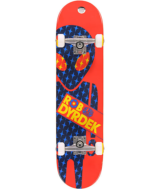 "Alien Workshop Rob Dyrdek Soldier 7.75""  Complete Skateboard"