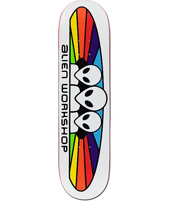 "Alien Workshop Spectrum 8.0"" Skateboard Deck"