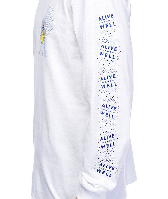 Alive And Well Salt Of The Earth camiseta blanca de manga larga