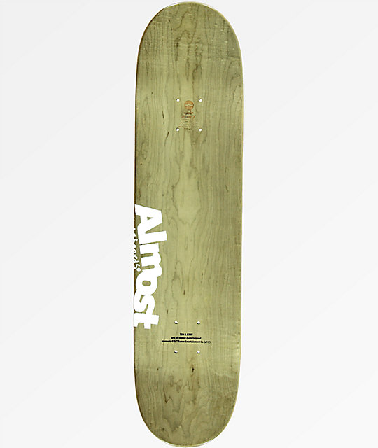 "Almost Daewon Jerry Face 7.75"" Skateboard Deck"