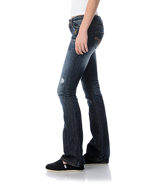 Almost Famous Chelsea Blue Bootcut Jeans