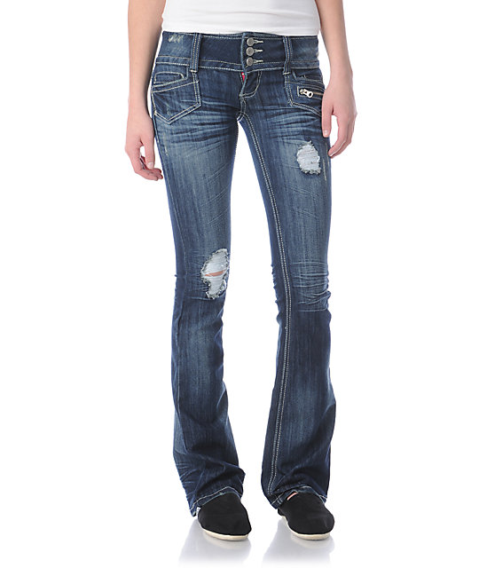 Almost Famous Ginger Blue Bootcut Jeans
