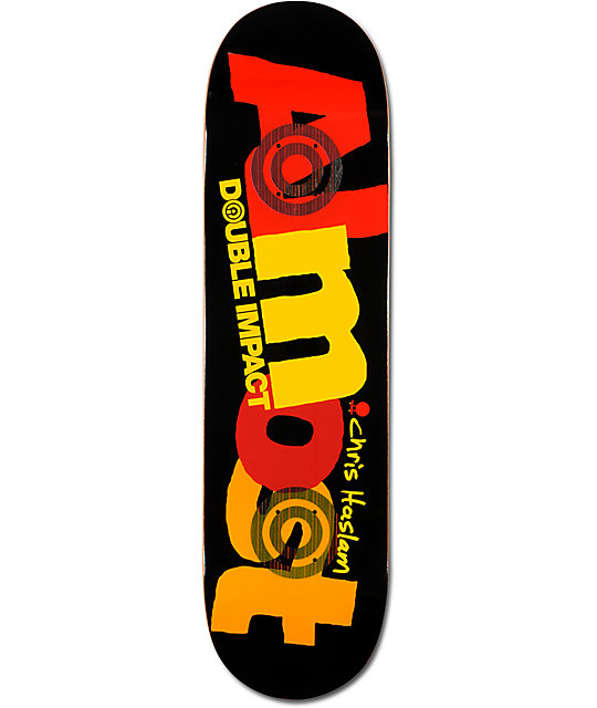 "Almost Haslam Lifesavers 8.25""  Double Impact Skateboard Deck"