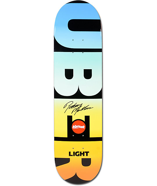 "Almost Mullen Uber Spectrum 8.0""  Skateboard Deck"