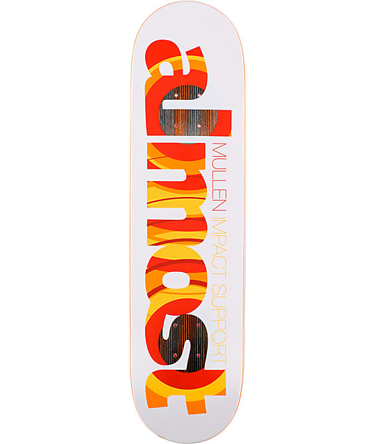 "Almost Planned Mullen Impact Support 8.0""  Skateboard Deck"