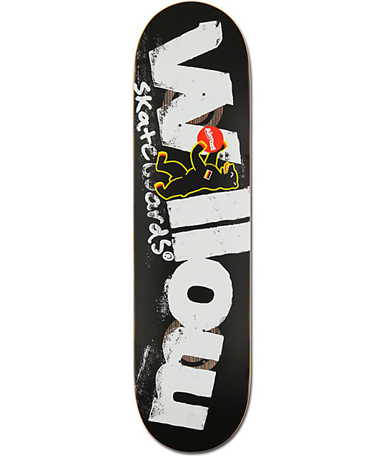 "Almost Willow Berlin Bear 8.1""  Double Impact Skateboard Deck"