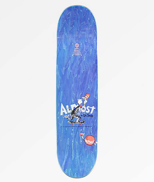 "Almost x Dr. Suess Mullen R7 7.87"" tabla de skate"
