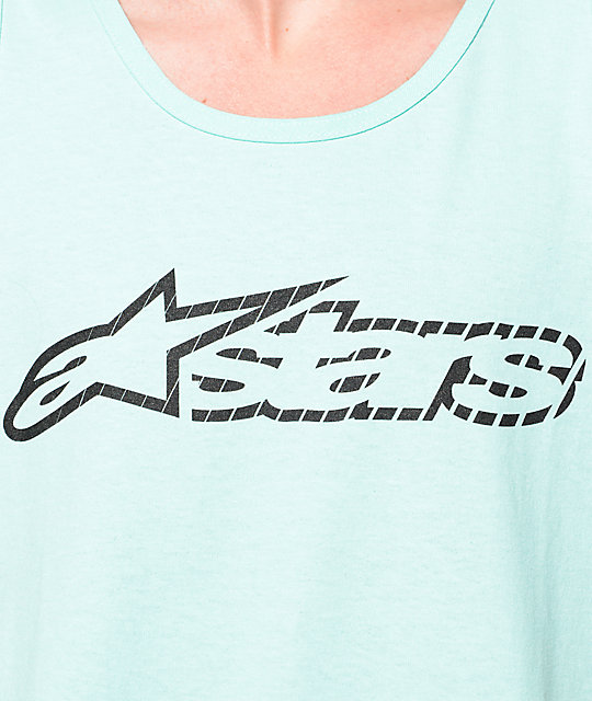 Alpinestars Blaze Speed Celadon Tank Top