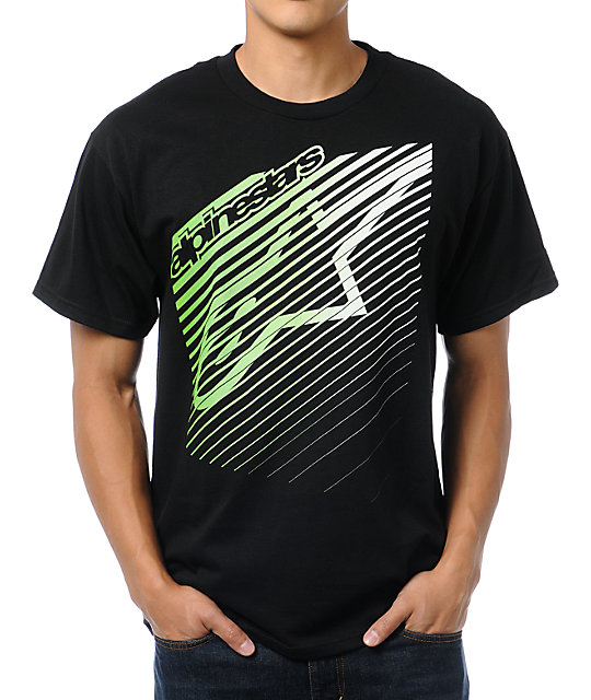Alpinestars Eclipse Black T-Shirt