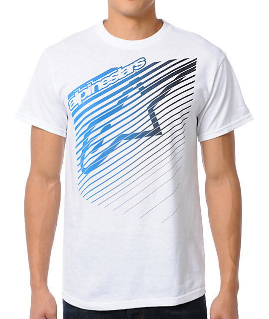 Alpinestars Eclipse White T-Shirt