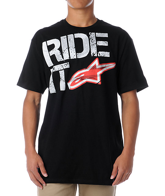 Alpinestars Ride It Black T-Shirt