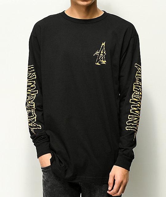 Altamont Fire Black Long Sleeve T-Shirt