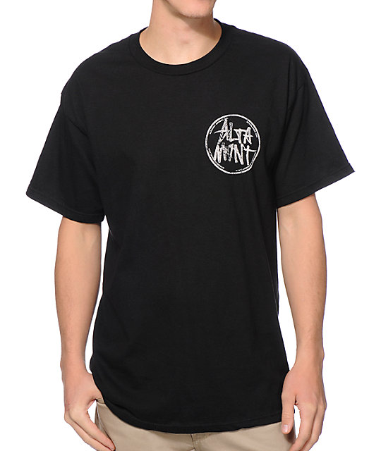 Altamont Marked Black T-Shirt