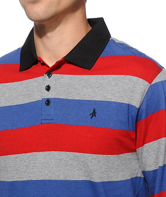 Altamont Reynolds Long Sleeve Polo Shirt