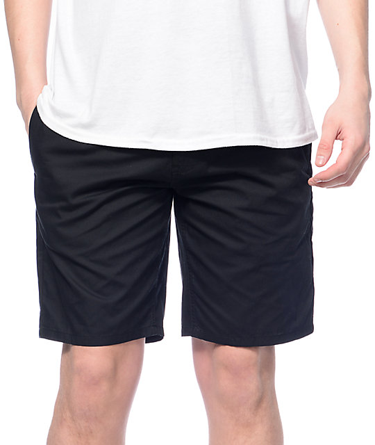 Altamont Sanford Black Shorts