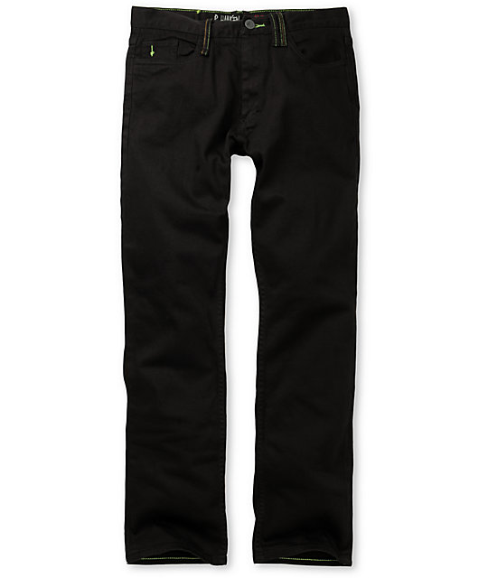 Altamont Slash Signature Black Regular Jeans