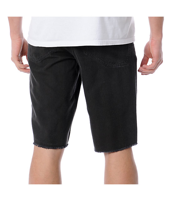 Altamont Switch Charcoal Cut-Off Shorts