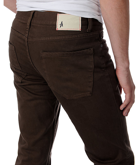 Altamont Wilshire Basic Brown Overdye Denim
