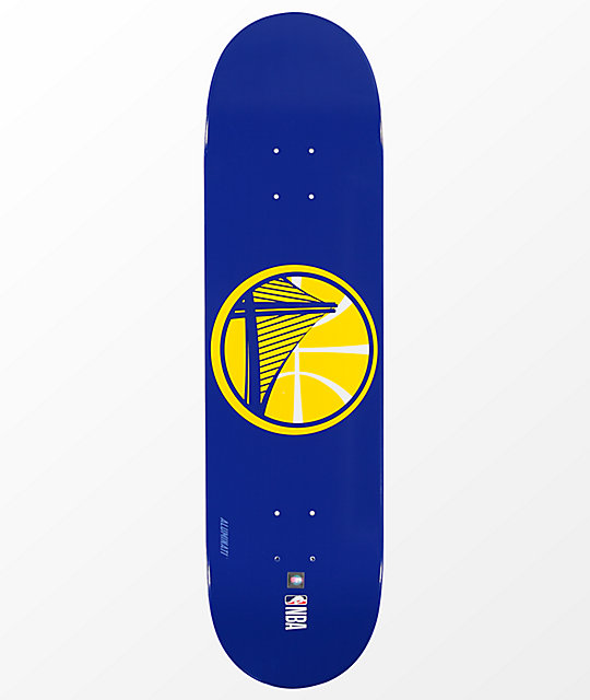 "Aluminati Golden State Warriors 8.25"" Skateboard Deck"