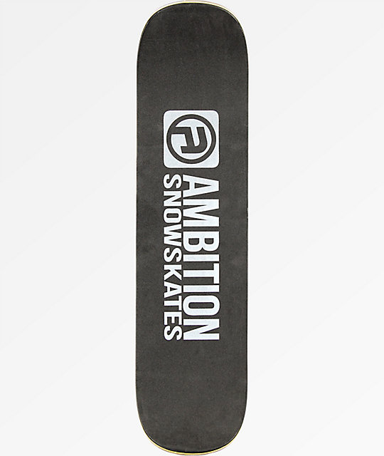"Ambition Team Series Charcoal 33"" Snowskate"
