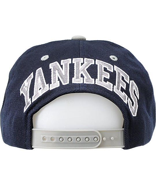3d56a5796ed ... American Needle Blockhead New York Yankees Snapback Hat ...