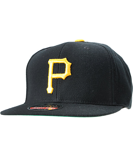 American Needle Cooperstown Pirates Snapback Hat