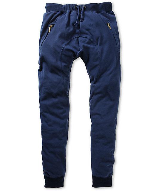 b99f451921c2d American Stitch Harem Navy Jogger Sweatpants