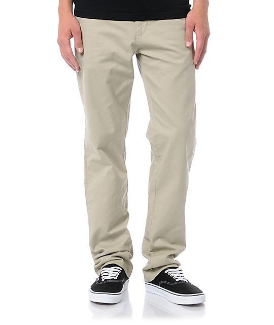 Analog AG Slim Fit Khaki Chino Pants